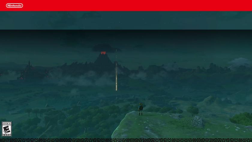 The Legend of Zelda Landing Page