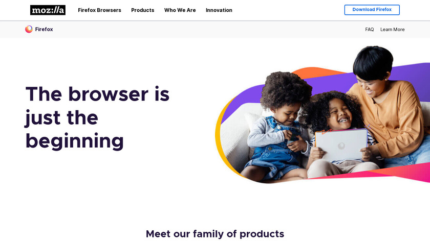 Firefox Quantum Landing Page