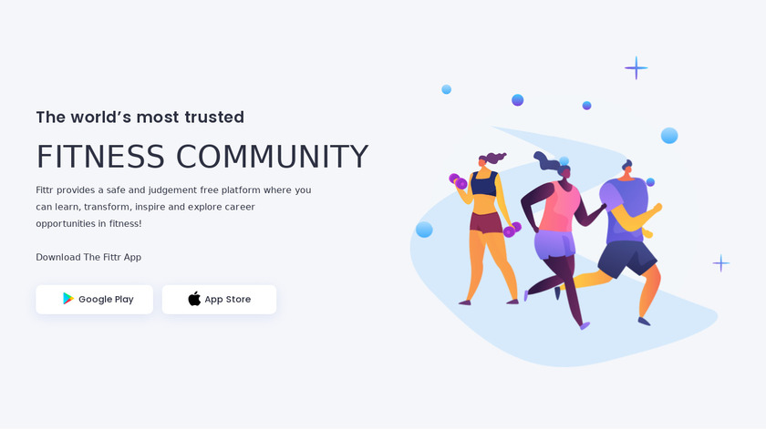 Fittr Landing Page