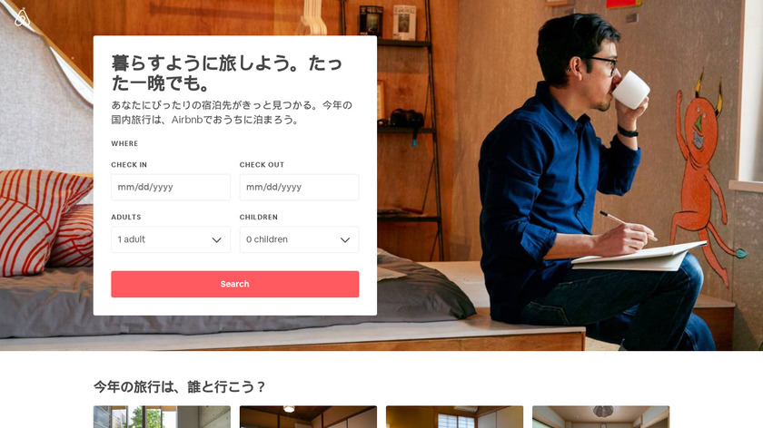 Airbnb Live There Landing Page
