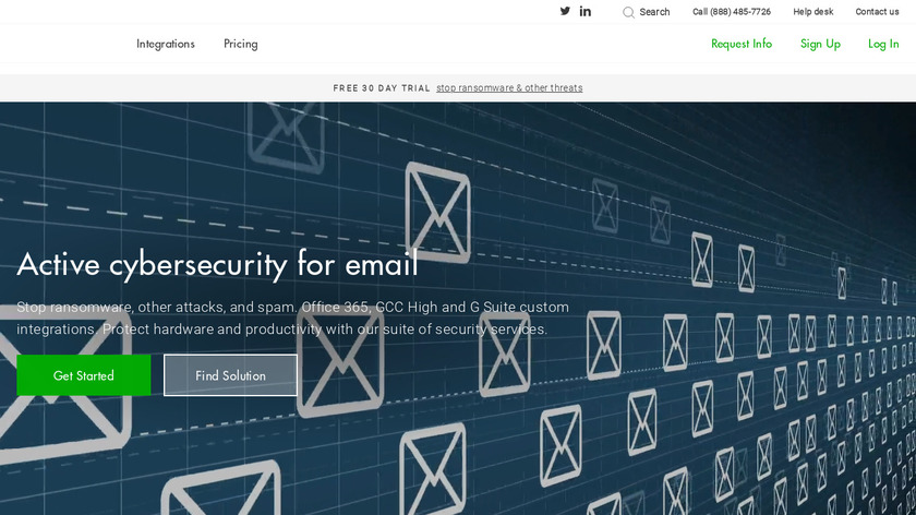 MailRoute Landing Page