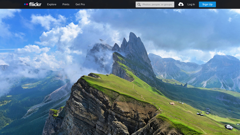 New Tab by Flickr Landing Page