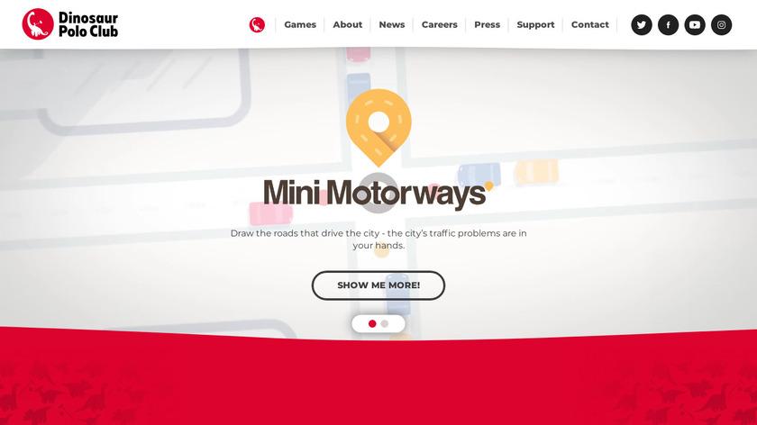 Mini Metro Landing Page