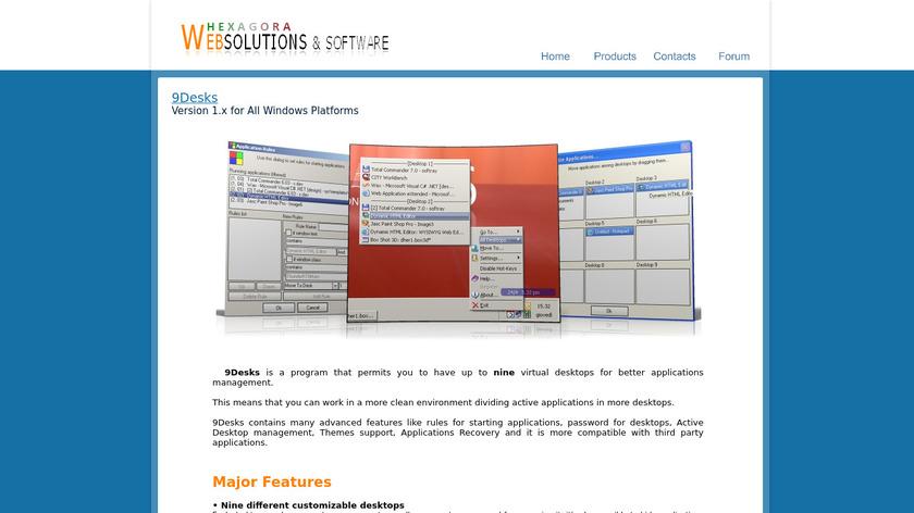 9Desks Landing Page