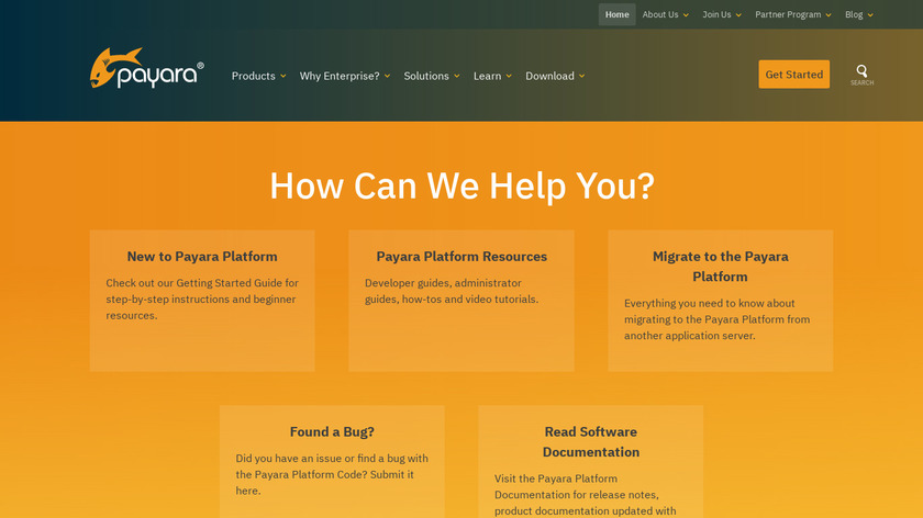 Payara Server Landing Page