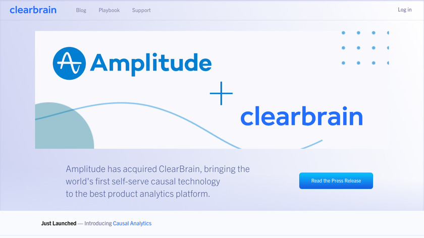 ClearBrain Landing Page