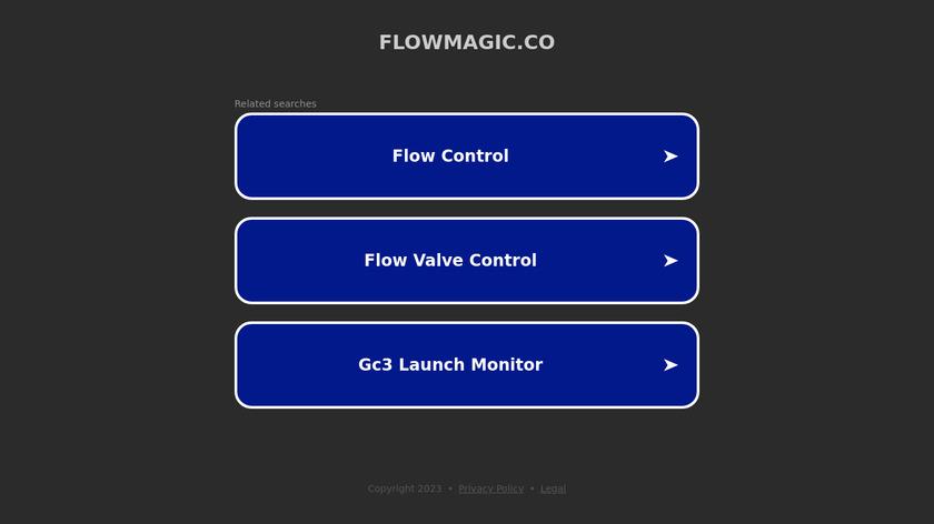Flowmagic  🦄 Landing Page
