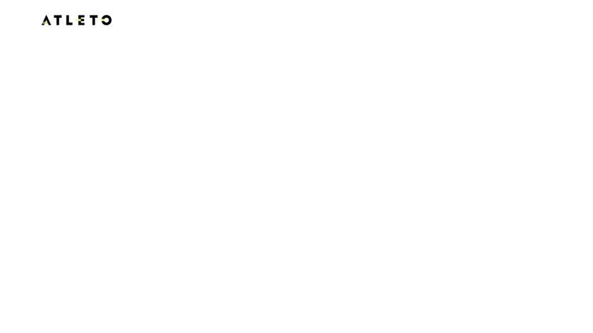 ATLETO Landing Page