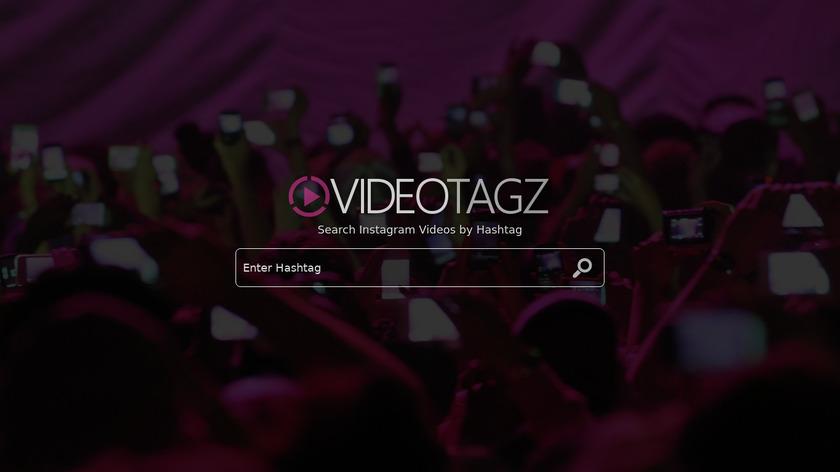 VideoTagz.com Landing Page