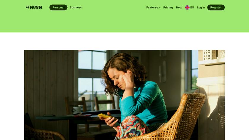 TransferWise Debit Card Landing Page