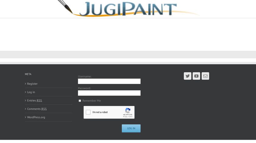 JugiPaint Landing Page