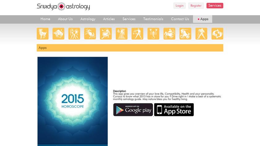 2015 Horoscope Landing Page
