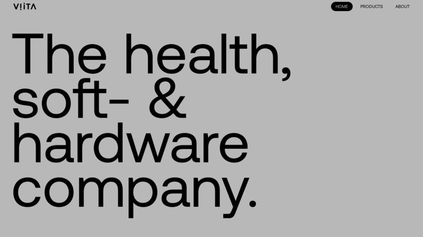 VIITA Watches Landing Page