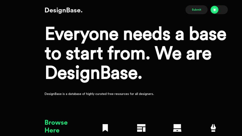 DesignBase Landing Page