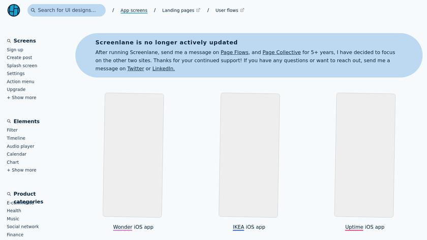 UI Movement Landing Page