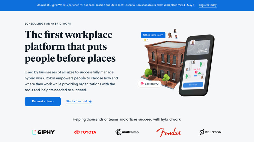 RobinPowered Landing Page
