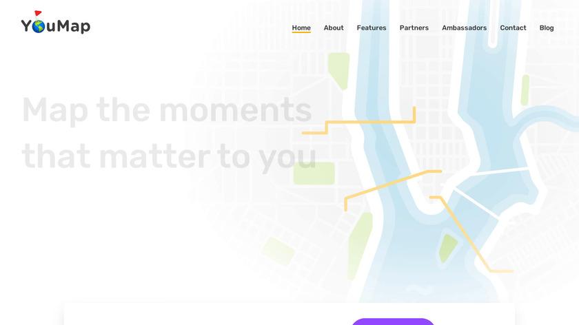 YouMap Landing Page