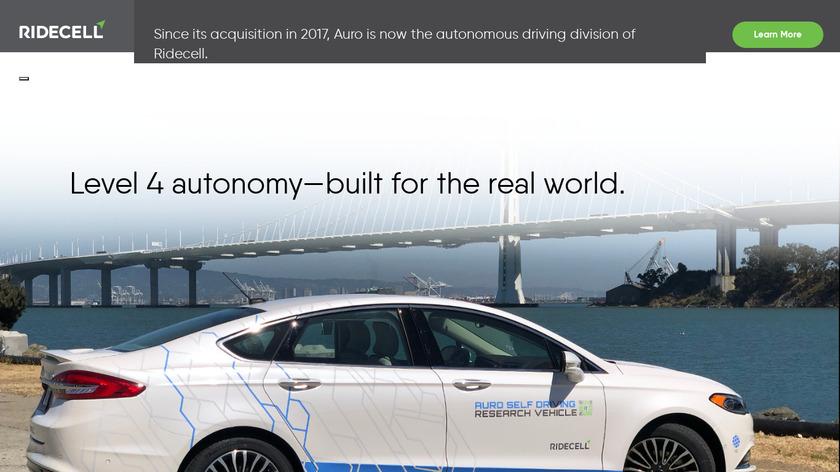 Auro Robotics Landing Page