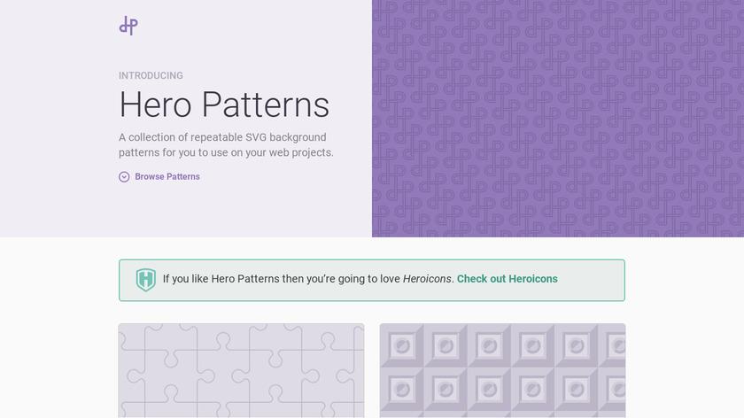 Hero Patterns Landing Page