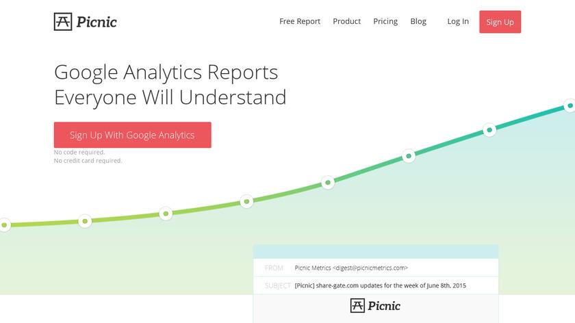 Picnic Metrics Landing Page