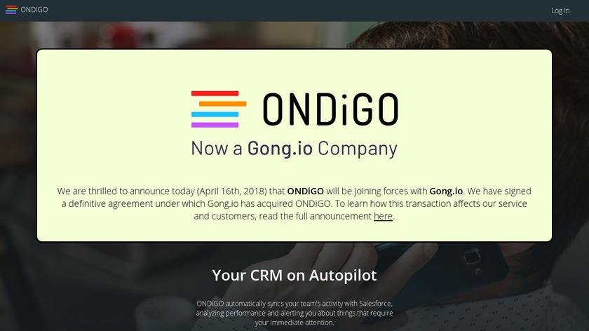 ONDiGO Landing Page