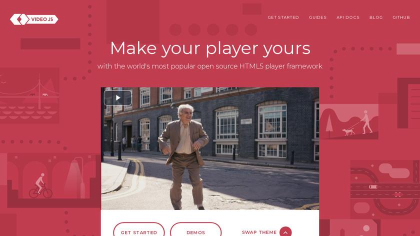VideoJS Landing Page