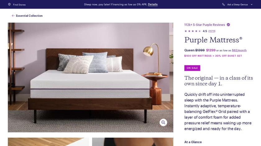 Purple Mattress Landing Page