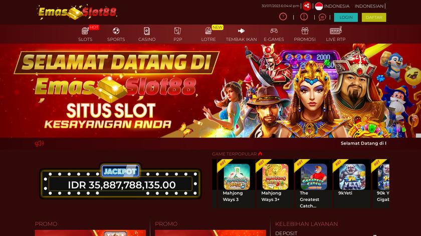 Huzza Landing Page
