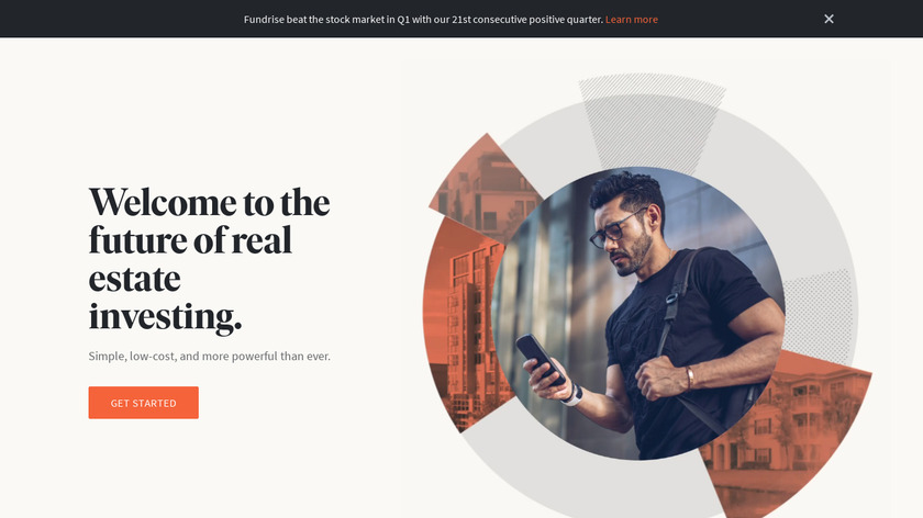 Fundrise Landing Page