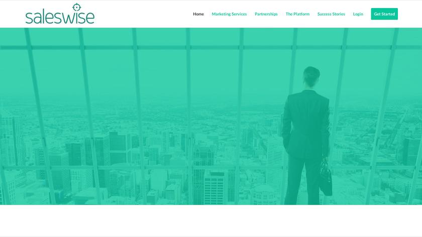 SalesWise Landing Page