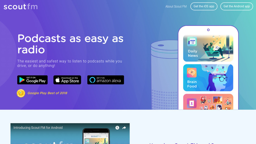 Subcast Landing Page