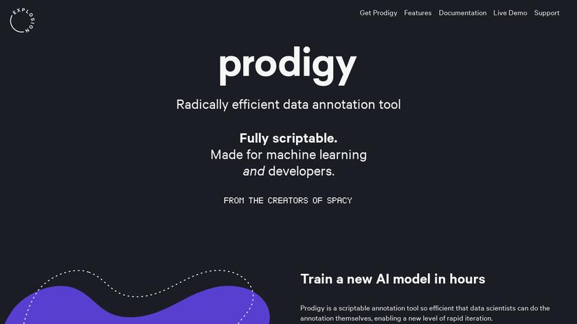 Prodigy Landing Page