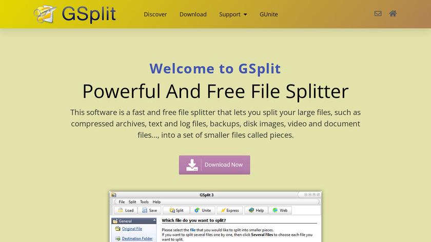 GSplit Landing Page