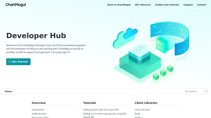 ChartMogul API Landing Page