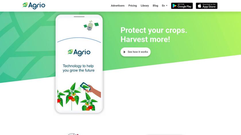 Agrio Landing Page