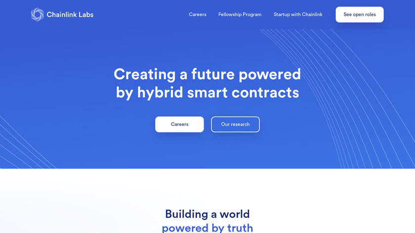 SmartContract.com - ChainLink Landing Page