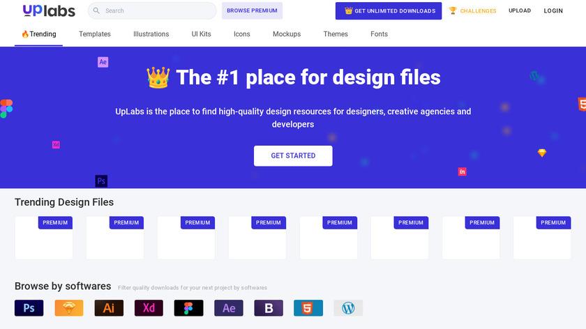 UpLabs Landing Page