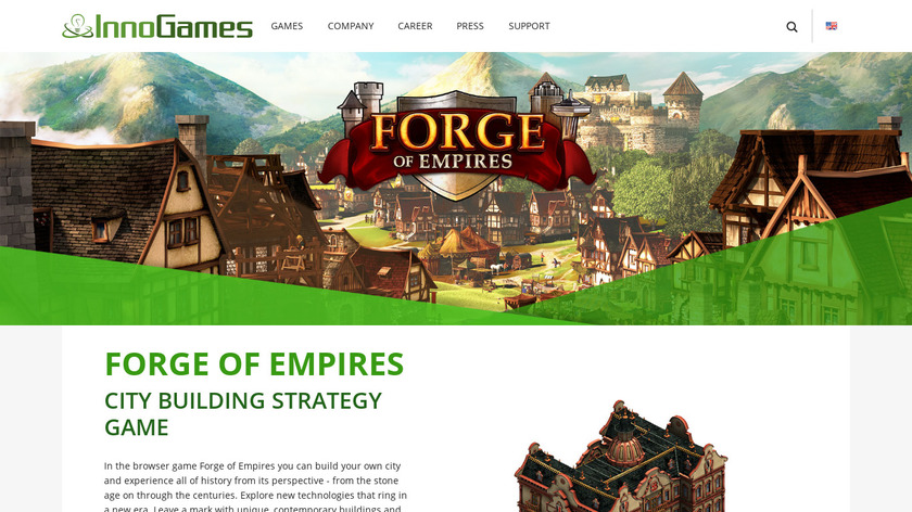 Forge of Empires Landing Page