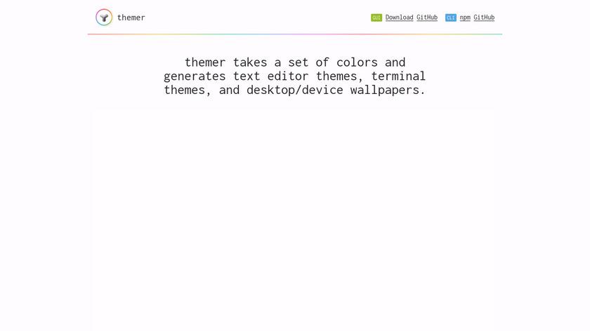 Themer Landing Page