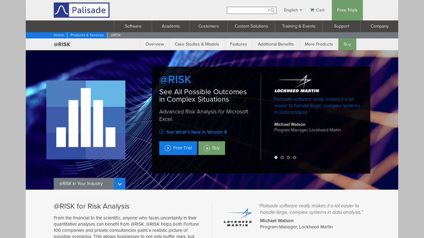 @RISK Landing Page