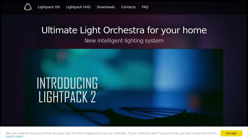 Lightpack Landing Page