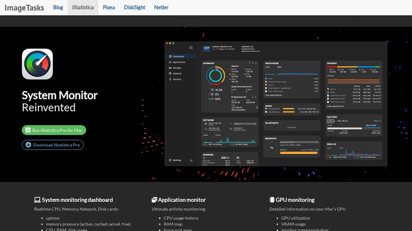 iStatistica Pro Landing Page