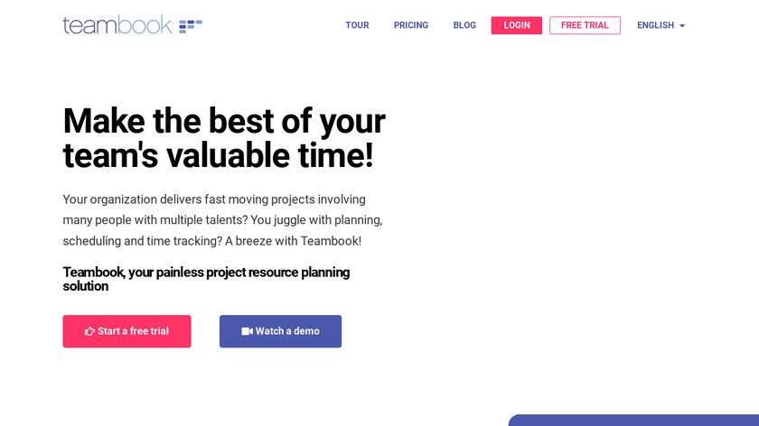 Teambook Landing Page