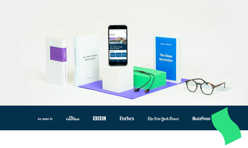 Blinkist Landing Page