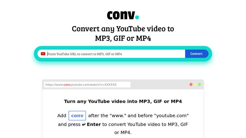 CONV. Landing Page