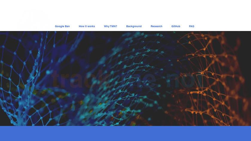TrackMeNot Landing Page