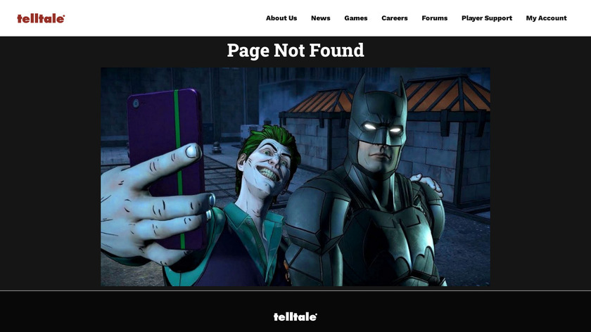 The Walking Dead Landing Page