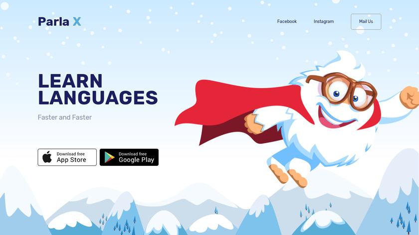 Parla Landing Page