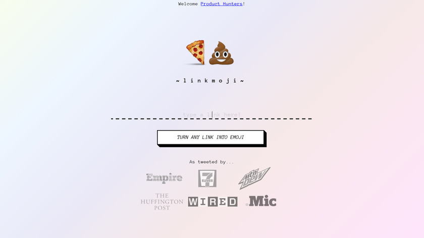 linkmoji Landing Page