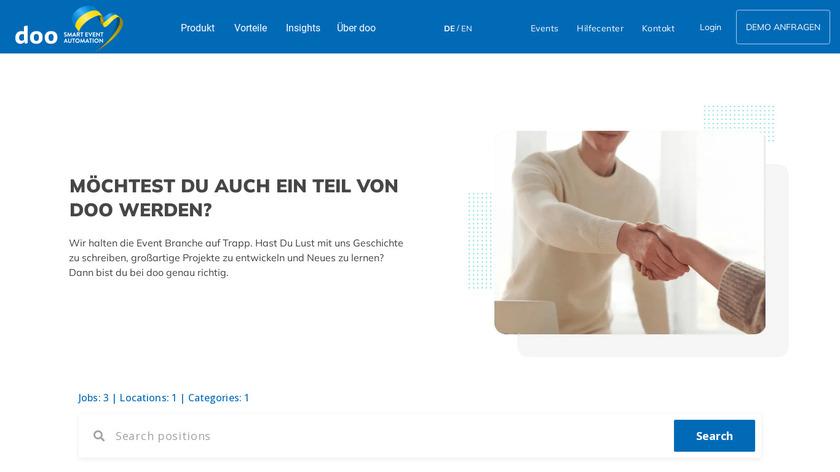 doo Landing Page